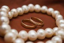 Free Wedding Rings Royalty Free Stock Photos - 17958168