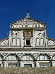 San Miniato Al Monte Church In Florence Italy