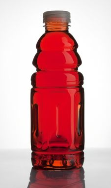 Free Bottle With Blackcurrant Juice Stock Images - 17959534