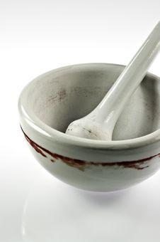 Free Porcelain Mortar Stock Image - 17959591