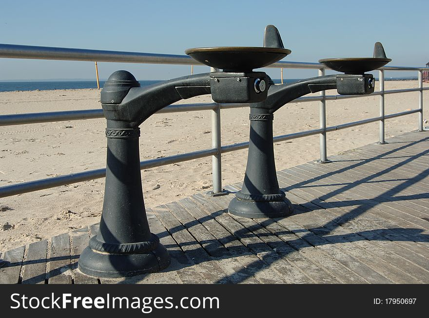 Water Fountain, Coney Island