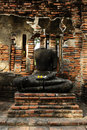 Free No Head Buddha Image At Wat Mahathat Stock Photos - 17962363