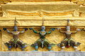 Free Statues At Wat Phra-Kaew Royalty Free Stock Photo - 17965965