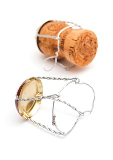 Free Champagne Cork Wire Stock Photography - 17960432