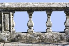 Free Old Stone Railing Royalty Free Stock Photography - 17960807