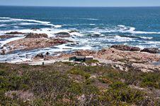 Camping Vacation At The Seashore Royalty Free Stock Photography
