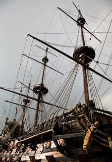 Free Detail Of Neptune Galleon Royalty Free Stock Image - 17962246