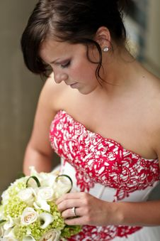 Free Young Bride Royalty Free Stock Images - 17962549