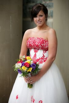 Free Young Bride Royalty Free Stock Photos - 17962848