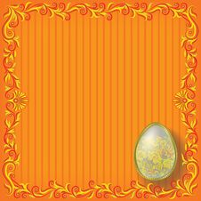 Free Floral Easter Background Royalty Free Stock Images - 17962899