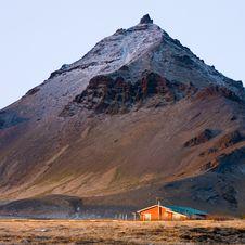Arnarstapi Mountain - Iceland Royalty Free Stock Photo