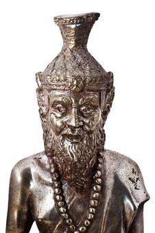 Free Ascetic Statue Stock Photo - 17964570
