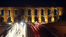 Free Valens Aqueduct, Istanbul. Stock Photography - 17964662