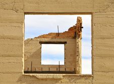 Free Architectural Ruins In Ghost Town Stock Image - 17964681