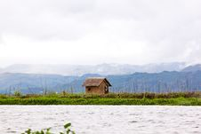 Free A Hut Near Inle Lake, Myanmar Stock Photos - 17964743