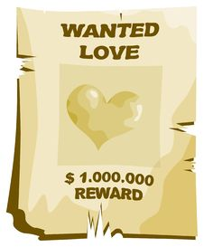 Free Wanted Love Stock Photo - 17964900
