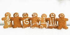 Free Gingerbread Friends Royalty Free Stock Photos - 17966078