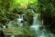 Free Beautiful Waterfall Stock Photography - 17966832