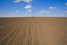 Free Plowed Field Stock Photography - 17966932
