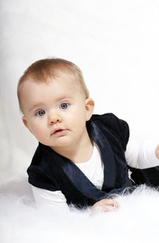 Free Cute Baby Royalty Free Stock Photos - 17967028