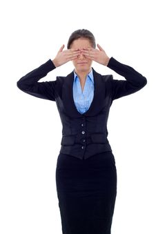 Free See No Evil Stock Photo - 17967050