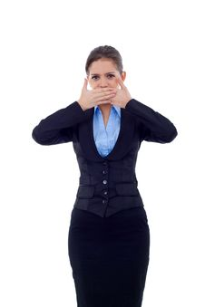 Free Speak No Evil Stock Photo - 17967060