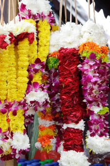 Free Flower Garlands Or Rosaries Stock Photos - 17968163