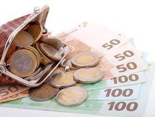 Free Euro Money Royalty Free Stock Photos - 17968418