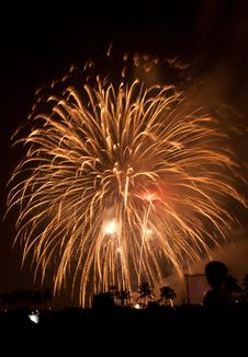 Free Fireworks Exploding Stock Images - 17968604