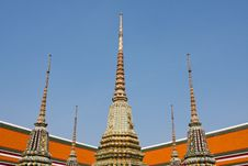 Pagoda Temple Thai Stock Image