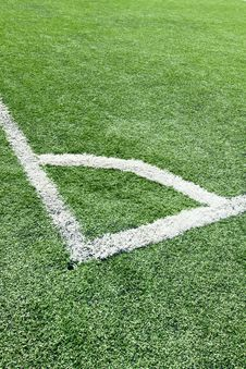 Free Corner Of Soccer Field Stock Photography - 17968892