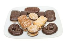 Free Selection Of Biscuits Royalty Free Stock Photos - 17969278