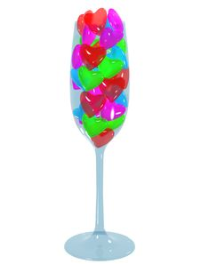 Free Love Drink Stock Images - 17969344