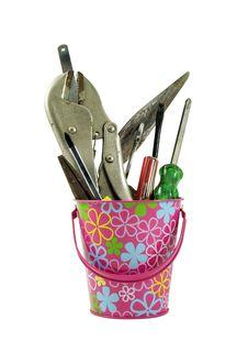 Free Tool Basket Royalty Free Stock Image - 17969376