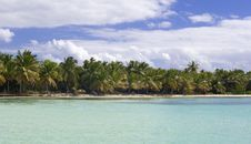 Free Blue Lagoon Near Saona Island Royalty Free Stock Photography - 17969567