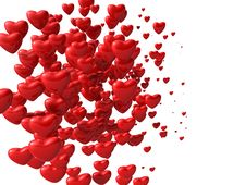 Free Red Hearts Royalty Free Stock Photos - 17969578