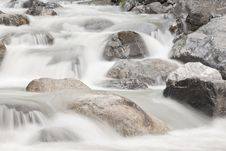 Waterfall Cascade Stock Image