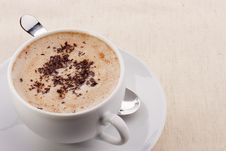 Free Cappuccino Royalty Free Stock Photos - 17969948