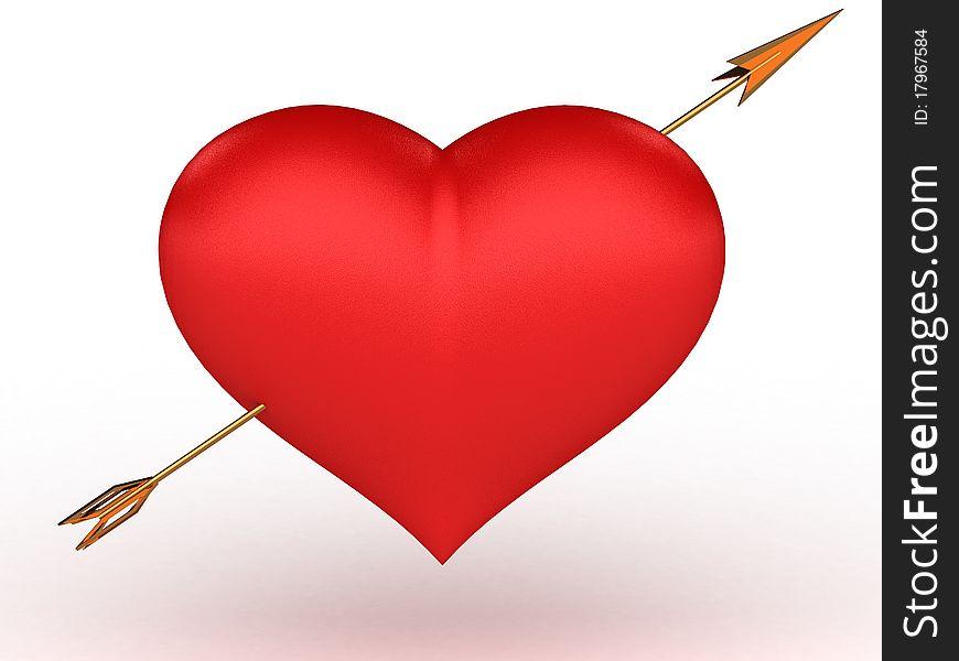 Golden Arrow hit the big red heart №2