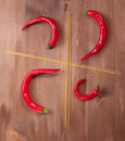 Free Red Hot Chilli Peppers Royalty Free Stock Image - 17972416