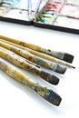 Free Oil Color Paintbrush Stock Images - 17974974