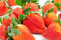 Free Fresh Natural Organic Strawberries Stock Photography - 17975262