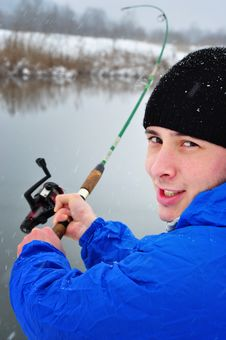 Free Winter Fishing Stock Images - 17970534