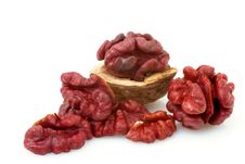 Free Red Walnut Royalty Free Stock Photography - 17970547