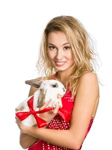 Free Follow The White Rabbit Royalty Free Stock Photography - 17970777
