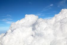 Free Fluffy Clouds Stock Photography - 17971072
