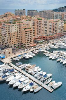Free Fontvieille. Stock Images - 17971404