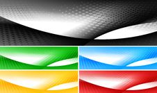 Free Bright Banners Collection Stock Photo - 17971750