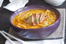 Free Meat And Noodle Soup Stock Photos - 17972083