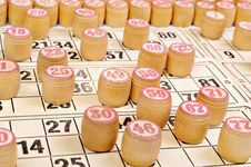 Free Board Game - A Lotto Royalty Free Stock Photo - 17972085